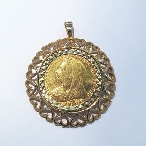 Jewelry - *Not For Sale Yet* 22k Gold Sovereign Pendant
